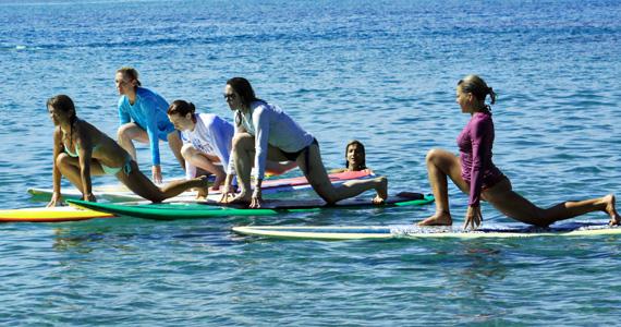 SUP Yoga   йога на воде: йога на доске йога на воде sup йога