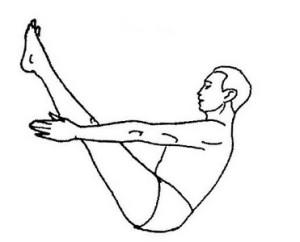 navasana  Зимние виды спорта и йога: йога и лыжи йога зимой