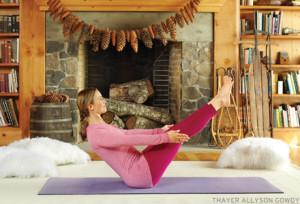 Sarana Miller  Зимние виды спорта и йога: йога и лыжи йога зимой