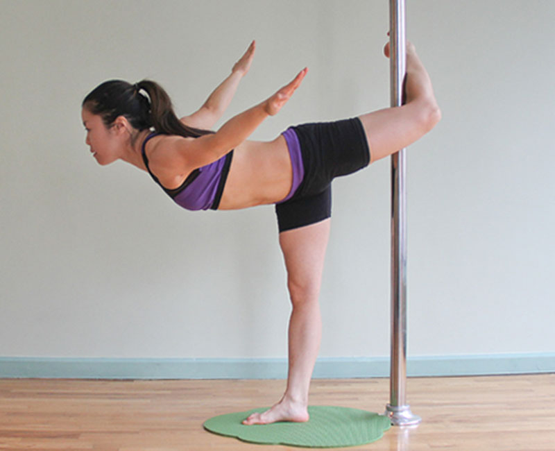pole yoga 6  Йога с пилоном: