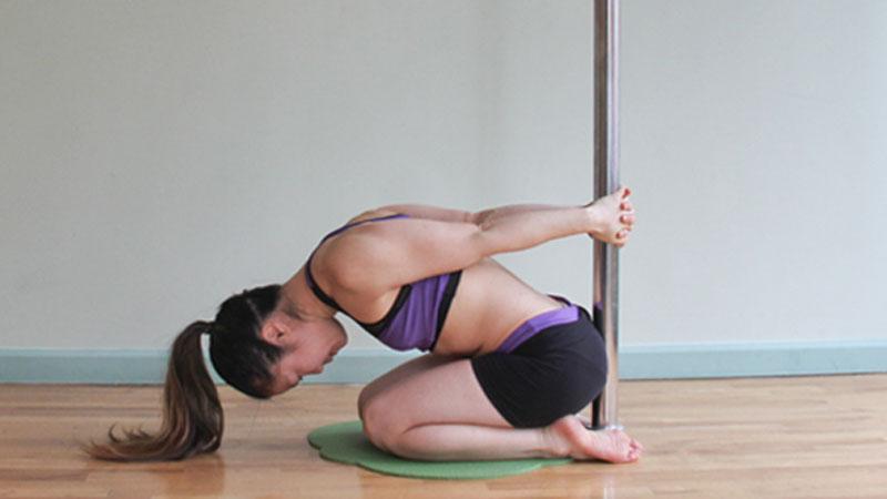 pole yoga  Йога с пилоном: