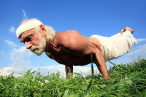 old yoga  Влияние йоги на метаболические факторы. Замедляем старение: