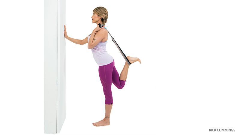 nataradjasana  Бережем колени: включаем в работу правильные мышцы: отстройка колени йога здоровье коленей анатомия йоги