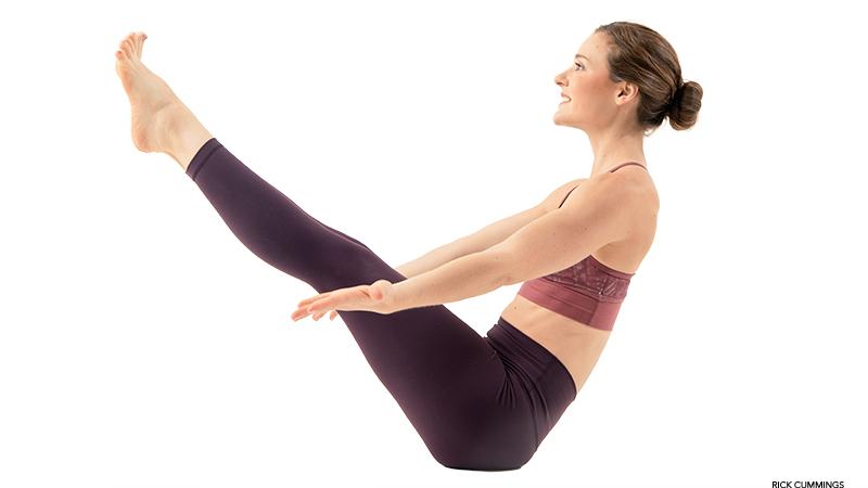 navasana  Как вытянуть и укрепить  поясничную мышцу:
