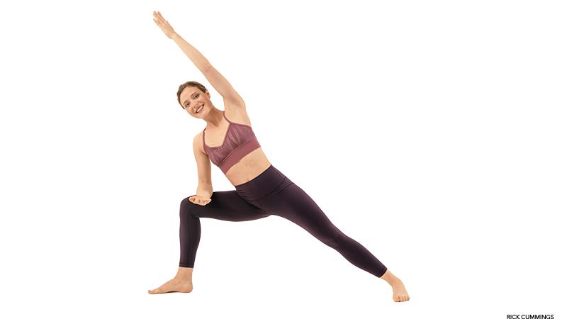 utthita  Как вытянуть и укрепить  поясничную мышцу: