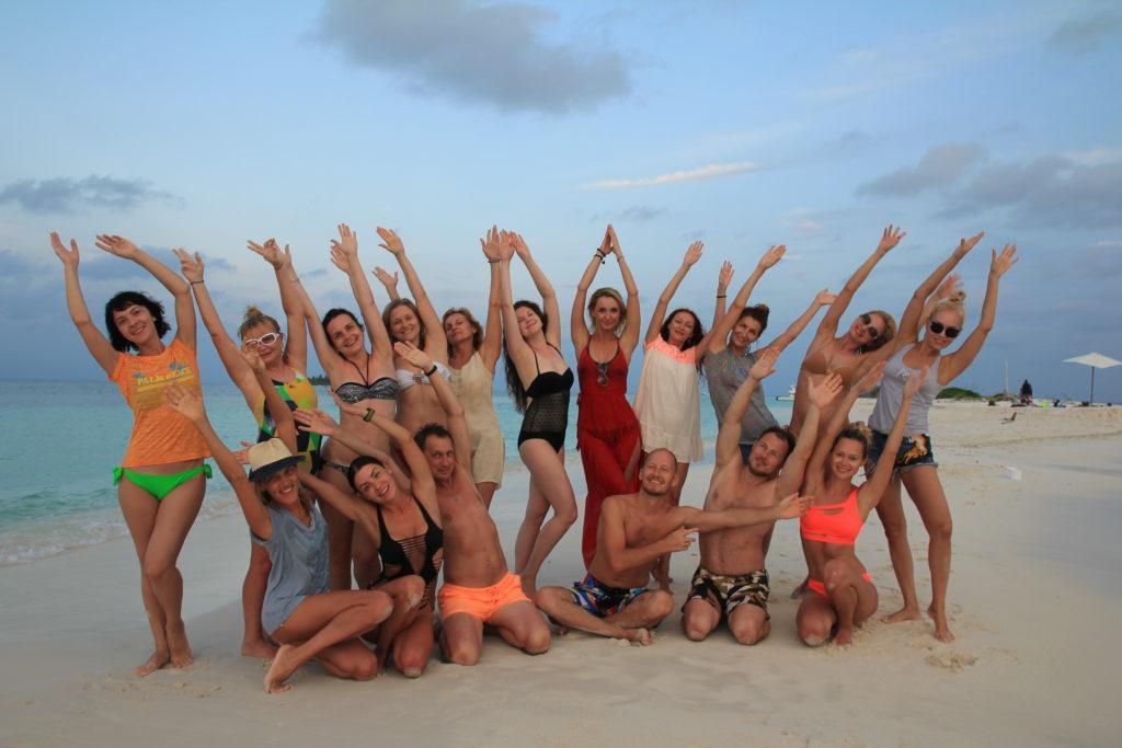 Йога тур на райский остров   Мальдивы с Олегом Макаровым 02   15 / 06   15 ноября: