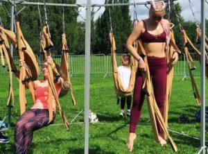 В парке Коломенское 20 июля прошел фестиваль йоги и музыки Wonderlust: