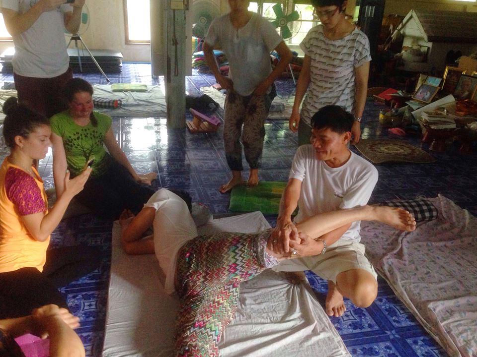 Тайский массаж — техника или медитация?: